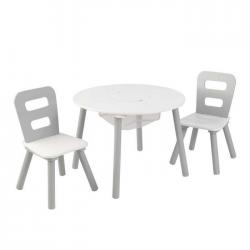 Table et chaises avec rangement
