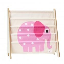 Ma première bibliothèque - Eléphant rose