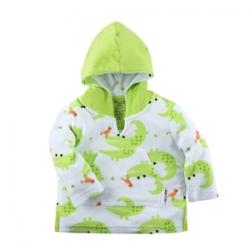 Poncho bébé et enfant - Crocodile