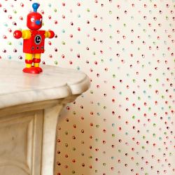 Papier peint - Confettis multicolors