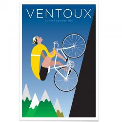 Affiche Cyclisme - Ventoux