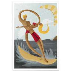 Affiche Surf - Vintage