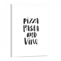 Toile 100 x 150 cm - Pizza...