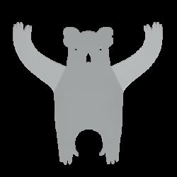 Porte manteaux Koala