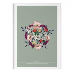 Affiche - Le bouquet de fleurs