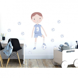 Sticker mural XXL - Footballeur 2