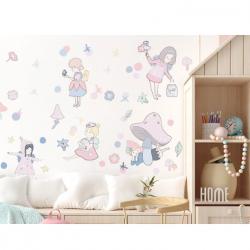 Sticker mural XXL - Au pays des fées