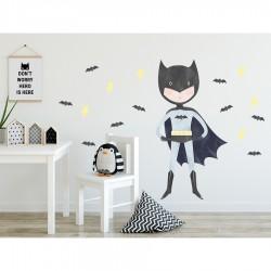 Sticker mural XL - Super Héro