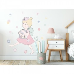 Sticker mural XXL - Fillette