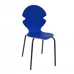 Chaise bleue - Distinguée
