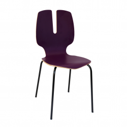 Chaise prune - Sage