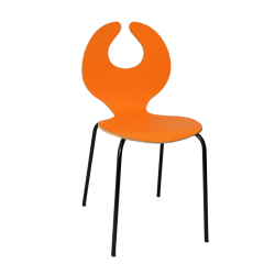Chaise orange - Enthousiaste