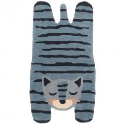 Tapis tigre - Blue Tigger