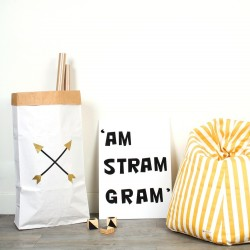 Sac - Paperbag Flèches