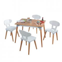Table et 4 chaises enfant
