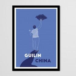 Affiche Ménade - Guilin