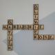 Lettre sur bois - Scrabble déco