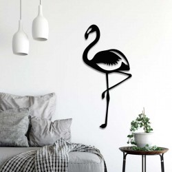 Déco murale indoor/outdoor - Flamant rose