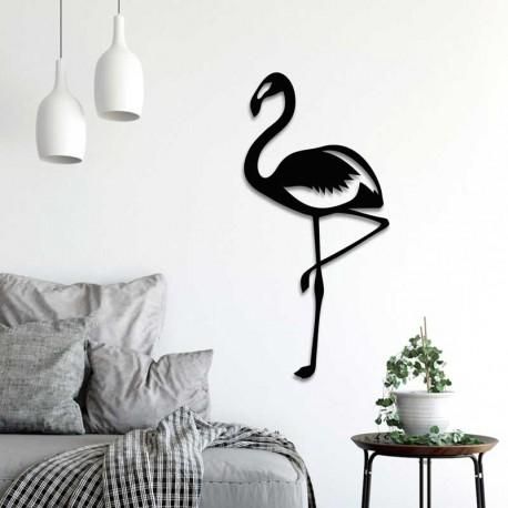Déco murale indoor/outdoor - Flamant rose