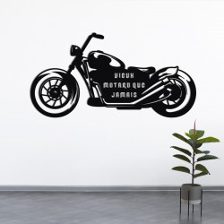 Déco murale indoor/outdoor - Motard
