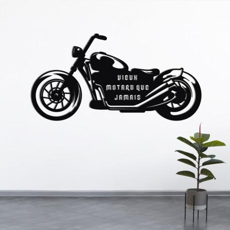 Déco murale indoor/outdoor - Motard