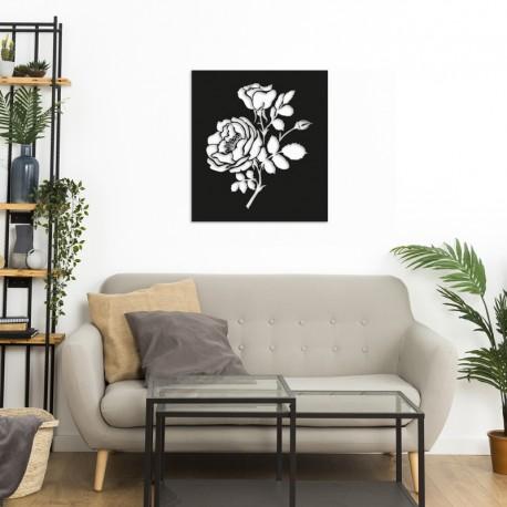 Déco murale indoor/outdoor - Roses