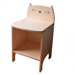 Table de nuit - Chat
