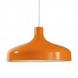Suspension industrielle - Orange