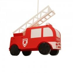 Suspension enfant - Camion de pompier