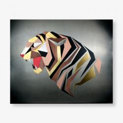 Tableau métal - Tigre