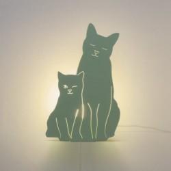 Lampe double fonction - Lapins