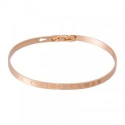 Bracelet Jonc - Je t'aime maman