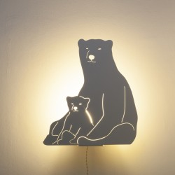Lampe double fonction - Ours