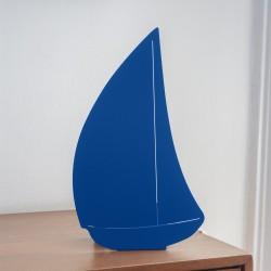 Lampe double fonction - Bateau bleu