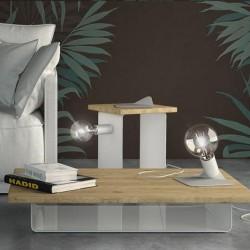 Lampe baladeuse et son socle