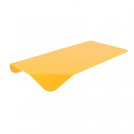 Etagère jaune en métal