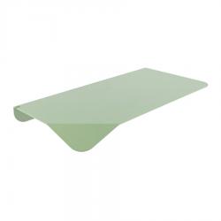 Etagère verte en métal