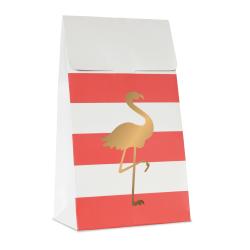 10 pochettes cadeaux - Flamingo