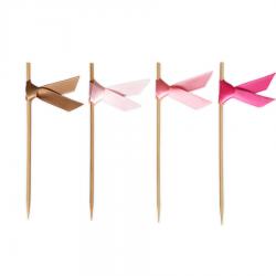 40 piques ruban - Flamingo