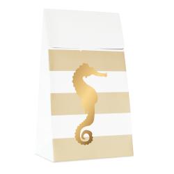 10 pochettes cadeaux - Hyppocampe