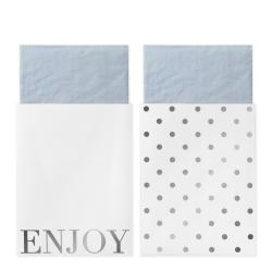 20 serviettes en papier