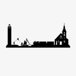 Silhouette de ville - Berck-sur-Mer