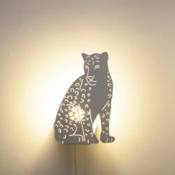 Lampe Léopard blanc