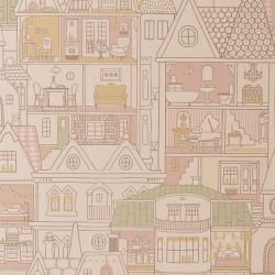 Papier peint - Maisons de poupées