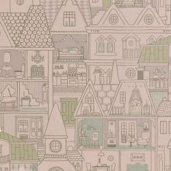 Papier peint - Maisons de poupées 2