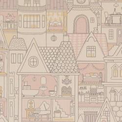 Papier peint - Maisons de poupées 3