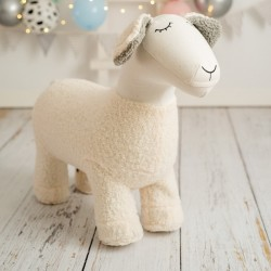 Pouf Amigurumi - Mouton