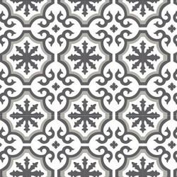 Rouleau adhésif - Carreaux de ciment Authentique