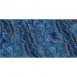Tapis vinyle - Marbre bleu