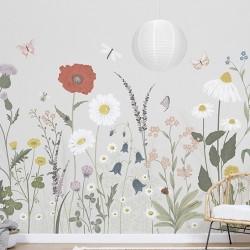 Papier-peint panoramique - Fleurs des champs